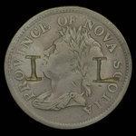 Canada, Province of Nova Scotia, 1 penny <br /> 1824