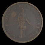 Canada, Bank of Montreal, 1 penny <br /> 1837