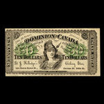 Canada, J. McEntyre's Clothing Store, 50 cents <br /> 1895