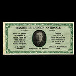 Canada, L'Union Nationale, 100 dollars <br /> 1960