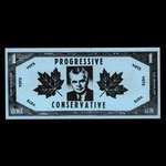 Canada, Progressive Conservative Party of Canada, no denomination <br /> 1963