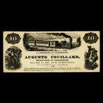 Canada, Auguste Couillard, no denomination <br /> 1877