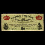 Canada, Gauthier & Gauthier, no denomination <br /> 1887