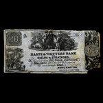 Canada, Harte & Watters, no denomination <br /> 1867