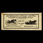 Canada, Shubenacadie Carriage Factory, no denomination <br /> 1887