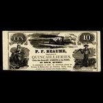 Canada, P.F. Reaume, no denomination <br /> 1887