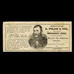 Canada, A. Pilon & Co., 50 cents <br /> 1915