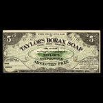 Canada, John Taylor & Co. Ltd., 5 cents <br /> 1915