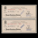 Canada, Montreal - Unemployment Relief Commission, 1 dollar, 80 cents <br /> September 6, 1934