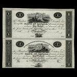 Canada, Bank of Canada, 1 dollar <br /> 1819