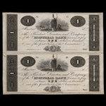 Canada, Montreal Bank, 1 dollar <br /> 1822