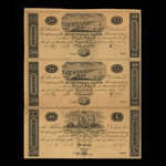 Canada, Montreal Bank, 20 dollars <br /> 1822