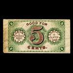Canada, Slater Shoe Co. Ltd., 5 cents <br /> 1915