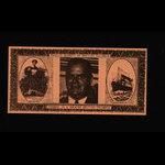 Canada, Social Credit Party of British Columbia, no denomination <br /> 1963