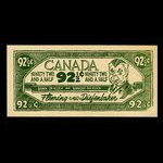 Canada, unknown, 92 1/2 cents <br /> 1963