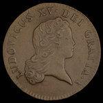 France, Louis XV, 2 sous <br /> 1719