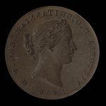Canada, Province of Nova Scotia, 1/2 penny <br /> 1856