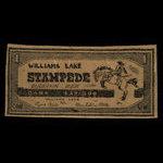 Canada, Bank of Cariboo, 1 dollar <br /> 1966