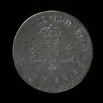 France, Louis XIV, mousquetaire (30 deniers) <br /> 1712