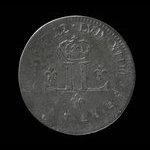 France, Louis XIV, mousquetaire (30 deniers) <br /> 1712