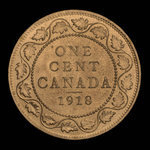 Canada, George V, 1 cent <br /> 1918