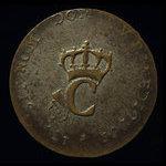 France, Louis XV, 2 sous <br /> 1764