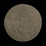 France, Louis XV, 2 sous <br /> 1739
