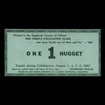 Canada, Lillooet Centennial Committee, 1 nugget <br /> August 6, 1967