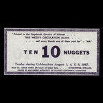 Canada, Lillooet Centennial Committee, 10 nuggets <br /> August 6, 1967
