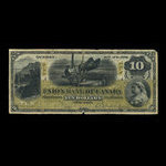 Canada, Union Bank of Canada (The), 10 dollars <br /> August 2, 1886