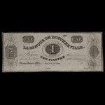 Canada, Banque de Boucherville, 1 dollar <br /> 1835
