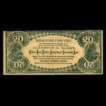 Canada, Western Express & Ticket Agency, no denomination <br /> 1895