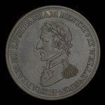 Canada, J.K. Picard, 1/2 penny <br /> 1812
