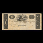 Canada, Montreal Bank, 100 dollars <br /> 1822