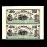 Canada, Banque Jacques-Cartier, 5 piastres <br /> June 1, 1886