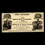 Canada, C.G. Barnes, no denomination <br /> 1887