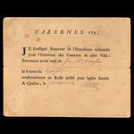 Canada, French Colonial Authorities, 30 sols <br /> March 1, 1754