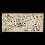 Canada, Bratt's Lake No.129, 191 dollars, 40 cents <br /> December 30, 1921