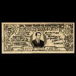 Canada, Ed Hamel-Schey, 5 dollars <br /> 1970
