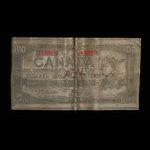 Canada, Bank of Canada, 100 dollars <br /> 1954