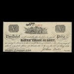 Canada, Joshua Bates, no denomination <br /> May 28, 1856