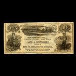 Canada, James A. Montgomery, no denomination <br /> 1887
