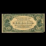 Canada, Western Express & Ticket Agency, no denomination <br /> 1895
