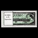 Canada, Comité Libéral du Taillon, no denomination <br /> 1970