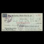 Canada, Bratt's Lake No.129, 185 dollars <br /> September 30, 1930