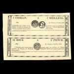 Canada, W.U. Chaffers, 6 pence <br /> July 6, 1837