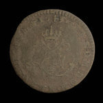 France, Louis XV, 2 sous <br /> 1743