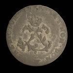 France, Louis XV, 2 sous <br /> 1745