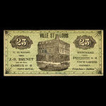Canada, J.-B. Brunet, no denomination <br /> 1880