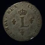 France, Louis XV, 2 sous <br /> 1758